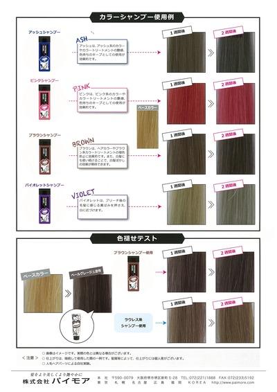 スペクトラムカラーズカラーシャンプーパンフレット02