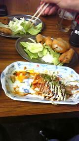 2010年6月14日 串かつ&豚平焼き