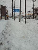 軽井沢春の大雪