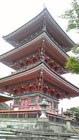 2010年6月14日 清水寺 三重塔