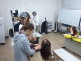 編みこみ教室09