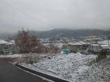 2011年12月2日雪景色