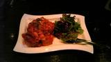 フランスパンと鳥肉トマトソース煮1