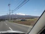 2011年4月20日 浅間山(小諸市御影新田より)