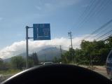 軽井沢からの浅間山